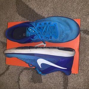 Blue, Nike Flex 2016